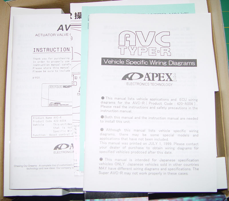 FS: NEW Limited Edition Apexi AVC-R and Do-Luck ISC - NASIOC